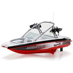 New Bright Radio Controlled 17 inch 6-Volt Mastercraft Boat - 49 MHz - Colors/Styles Vary $34.99  #Sale