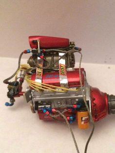 Engine Detail Megabitsonline Model Cars Showcase