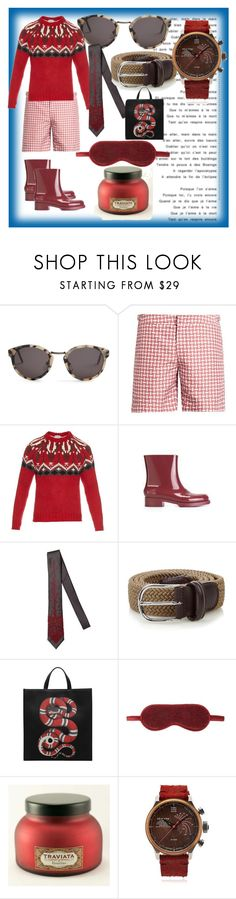 """""""set for you"""" by denisee-denisee ❤ liked on Polyvore featuring RetroSuperFuture, Orlebar Brown, Moncler, Charles Jourdan, title of work, Anderson's Belts, Gucci, Coco de Mer, Terra Cielo Mare and vintage"""