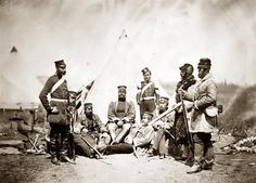 Officers and Men of the Regiment Roger Fenton British Soldier, British Army, Crimean War, Getty Museum, British Colonial, Old Pictures, Historical Photos, Vintage Images, Soldiers