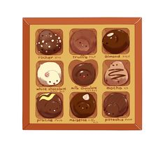 ちょっと良いチョコレートというのは本当に宝石のようで、思わず見とれちゃいます。●コメントありがとうございます!ロシェの子は私も気に入ってます。こんなチョコ、どこかで売ってないかな…