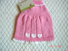 Hand Knit Dog Sweater Handmade Pet Sweater Size SMALL by dogoncozy