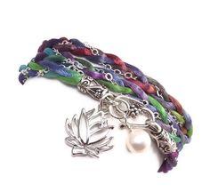 Wrap Bracelet $34.00 #jewelry #handmade #brigteam