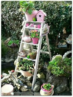 Use for an old ladder.