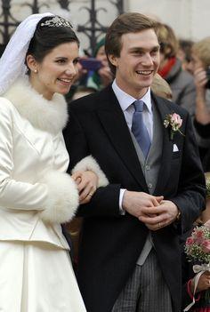 Archduke  Christoph  of Habsbourg-Lorraine and Adelaide  Drapé-Frisch's wedding