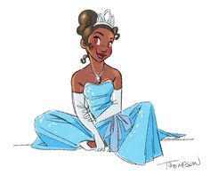 Steve Thompson Tiana from The Princess and the Frof