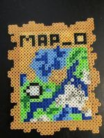 Minecraft map 0 by PerlerPalace