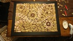 To make your won cork board ideas is easy. In this article, you can make diy cork board for your home and corkboard for your home office Cork Board Projects, Diy Cork Board, Wine Cork Boards, Wine Cork Wreath, Wine Cork Art, Wine Craft, Wine Cork Crafts, Wine Cork Coasters, Wine Bottle Corks