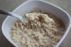 Oatmeal Cookie Overnight Oats....a secret ingredient makes it seem like you're eating cookie dough for #breakfast!