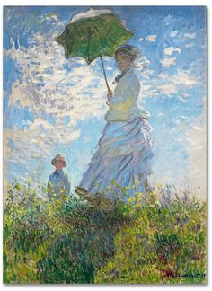 10 most famous paintings of the great Impressionist artist Claude Monet. Featuring paintings from The Woman in the Green Dress to the Water Lilies Series. Claude Monet, Artist Canvas, Canvas Art, Canvas Prints, Art Prints, Most Famous Paintings, Classic Paintings, Famous Art Pieces, Indian Paintings