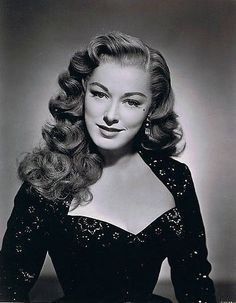Retro Hairstyles Vintage Hairstyles For Long. Vintage Hairstyle Inspiration For Jenny Buckland 1940s Hairstyles For Long Hair, 1950s Hairstyles, Wedding Hairstyles, Short Hairstyles, Hollywood Hairstyles, Female Hairstyles, Ladies Hairstyles, Layered Hairstyles, Homecoming Hairstyles