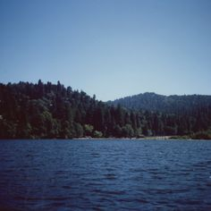 I could stay right here forever.  Taken with a Polaroid Land camera and Fuji Pack Film in Arrowhead, CA.