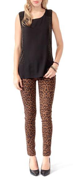 Love the cheetah print pants