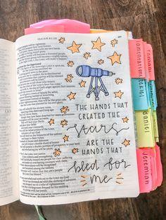 Inspirational Bible Quotes, Bible Verses Quotes, Bible Scriptures, Bible Drawing, Bible Doodling, Bibel Journal, Cute Bibles, Bible Study Journal, Bible Notes