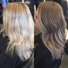 Medium, Beachy Waves with Ombre Highlights - 40 On-Trend Balayage Short Hair Looks - The Trending Hairstyle Brown Blonde Hair, Brunette Hair, Natural Dark Blonde, Dark Hair, Dark To Blonde, Dark Blonde Hair With Highlights, Beige Hair, Blonde Honey, Honey Hair