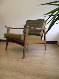Danish Modern Lounge Chair - sold :(