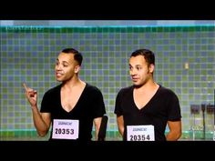James & Nick Aragon - SYTYCD 9 (L.A. Auditions)    I was laughing my butt off!!!!!