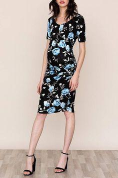 6747ca88a9515 Yumi Kim Blossom Maternity Dress Baby Shower Dresses, Floral Baby Shower,  Floral Maternity Dresses