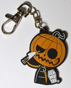 Sinister Smile Keychain