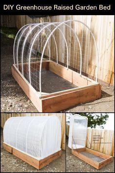 Learn the step-by-step process of building this greenhouse raised garden bed.