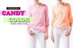 Moda Candy Color: Saiba como usar esta nova tendência!