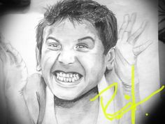 Happiness is to sketch.. Person of my intrests will know...!!! Prajwal Manel