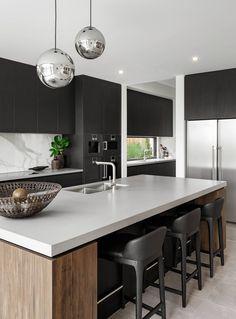 Modern Kitchen Interiors, Luxury Kitchen Design, Kitchen Room Design, Home Decor Kitchen, Interior Design Kitchen, Kitchen Modern, Kitchen Ideas, Kitchen Pantry, Kitchen Inspiration