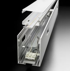 Built-in linear led module NEW PROFILE SYSTEM New Profile System Collection by PANZERI