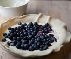 Blueberry Tart from