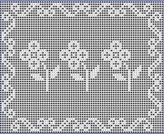 Digital PDF Filet Crochet Pattern My Flower by CrochetMyStyle  This pattern is only .20 Cents!  Sweet!