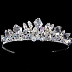 Tiaras | ... Wedding Hair Accessories › Wedding Tiaras › Crystal Wedding Tiara