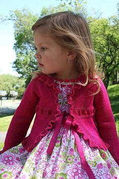 Ravelry: Saffron pattern by Elena Nodel Sweater Knitting Patterns, Knit Patterns, Knitting For Kids, Free Knitting, Free Childrens Knitting Patterns, Baby Cardigan, Shrug Cardigan, Knit Or Crochet, Baby Sweaters