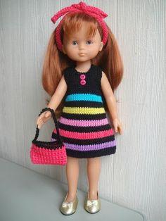 Mon 1er article !  Passionnée depuis toujours de tricot, crochet et pelotes de laine, je suis venue aux poupées par l'intermédiaire...