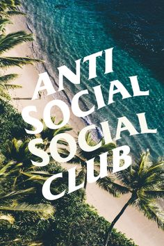 Anti-Social Social Club wallpaper for iPhone