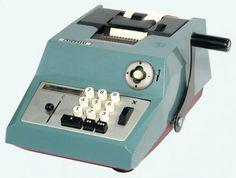 Calculadora Olivetti Summa Prima 20 Mecanica Antiga Fabricacao Decada de 60 Reformada com Garantia
