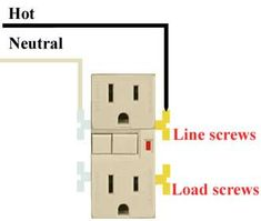 gfci outlet  switch wiring barn gates wire switch outlets house plans