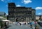 Trier, Germany - oldest city in Germany with lots of cool Roman empire ruins (picture of Porta Nigra - best-preserved city gate from antiquity)