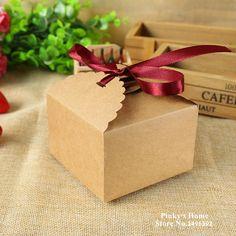 Encontrar Más Cajas de Embalaje Información acerca de 10 unids/lote pequeño cuadrado de papel caja de dulces galletas dulces de Chocolate caja de embalaje artesanía cajas de regalo 9 x 9 x 6 cm, alta calidad regalo de jabón, China caja de distribución Proveedores, barato regalos dama de honor de Pinky's Home en Aliexpress.com