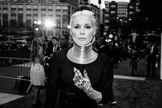 Daphne Guinness Parties — Valentino's Red Carpet