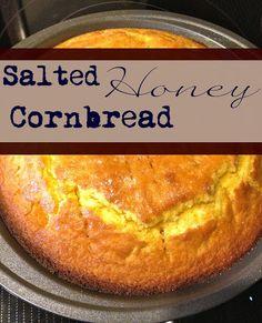 I do deClaire: Salted Honey Cornbread