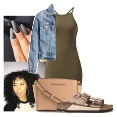 A fashion look from July 2016 featuring green dress, blue jackets and flat shoes. Browse and shop related looks. Cute Swag Outfits, Classy Outfits, Chic Outfits, Fashion Outfits, Dope Outfits, Dress Outfits, Dresses, Summer Wear, Summer Outfits
