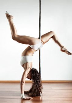 """Pole Fitness"" is now part of the fitness industry, providing a great complement or alternative to regular classes. A pole fitness session burns more calories than a good session at the gym. Pole Dance Fitness, Dance Fitness Classes, Pole Dance Moves, Pole Dancing, Dirty Dancing, Pole Tricks, Get In Shape, Belly Dance, Fun Workouts"