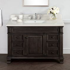 """You'll love the Lake Park 48"""" Single Bathroom Vanity Set at Wayfair - Great Deals on all Home Improvement products with Free Shipping on most stuff, even the big stuff."""