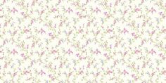 Cosy Posy (M0762) - Coloroll Wallpapers - A tiny scale floral all over design - available in two colourways - shown here in the pink. Please request a sample for true colour match.