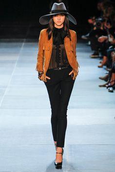 Saint Laurent Spring 2013 Ready-to-Wear Fashion Show - Sarah Engelland (ONE)