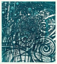 HAYASHI Takahiko  Resounding Jasper Winds, 2008Print intaglio    17.5 x 15.5 inchesDimensions above are image size only. Paper measures 24 x 21 inches.