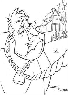 Dibujos para Colorear Zafarrancho en el Rancho 5