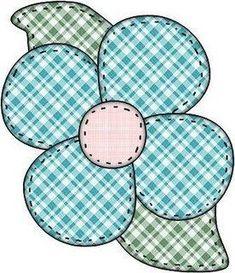 DANI PATCHWORK: Flores Moldes