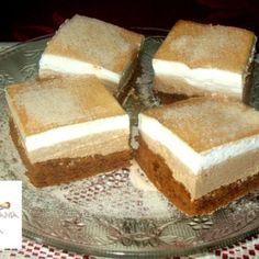 Hungarian Recipes, Naan, No Bake Cake, Vanilla Cake, Tiramisu, Food To Make, Sweet Tooth, Recipies, Cheesecake
