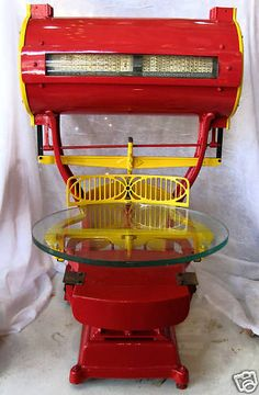 DAYTON COMPUTING SCALE Red / Yellow Refurbished 1900s